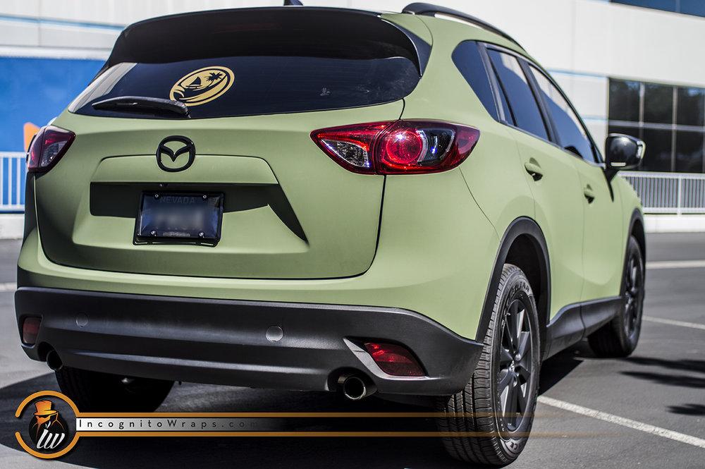 Mazda CX-5 Ultra Matte Green