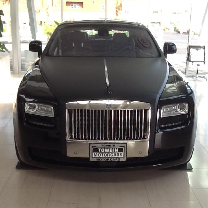 Rolls Royce Wraith Matte Black