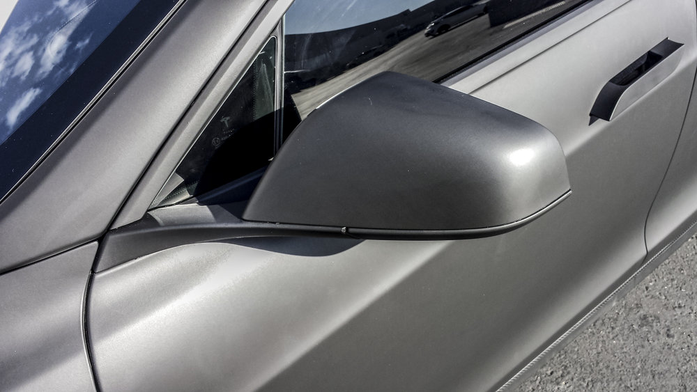 Tesla Model S Matte Black