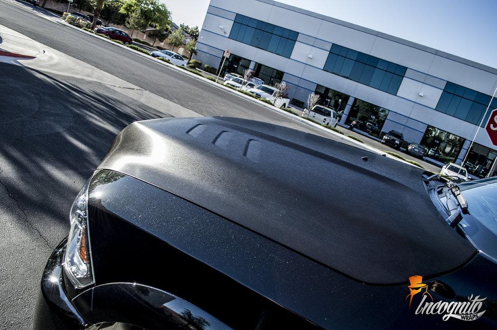 Dodge Ram 3500 Black Brushed