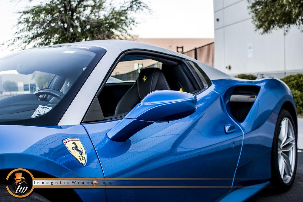 Ferrari 488 Spyder Brushed Aluminum Top