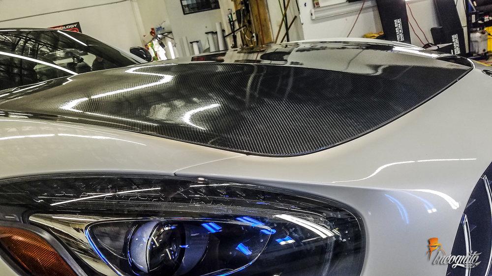 Mercedes GTR Carbon Fiber Hood