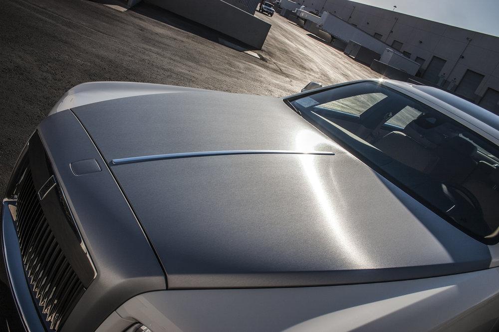 Rolls Royce Wraith Brushed Steel