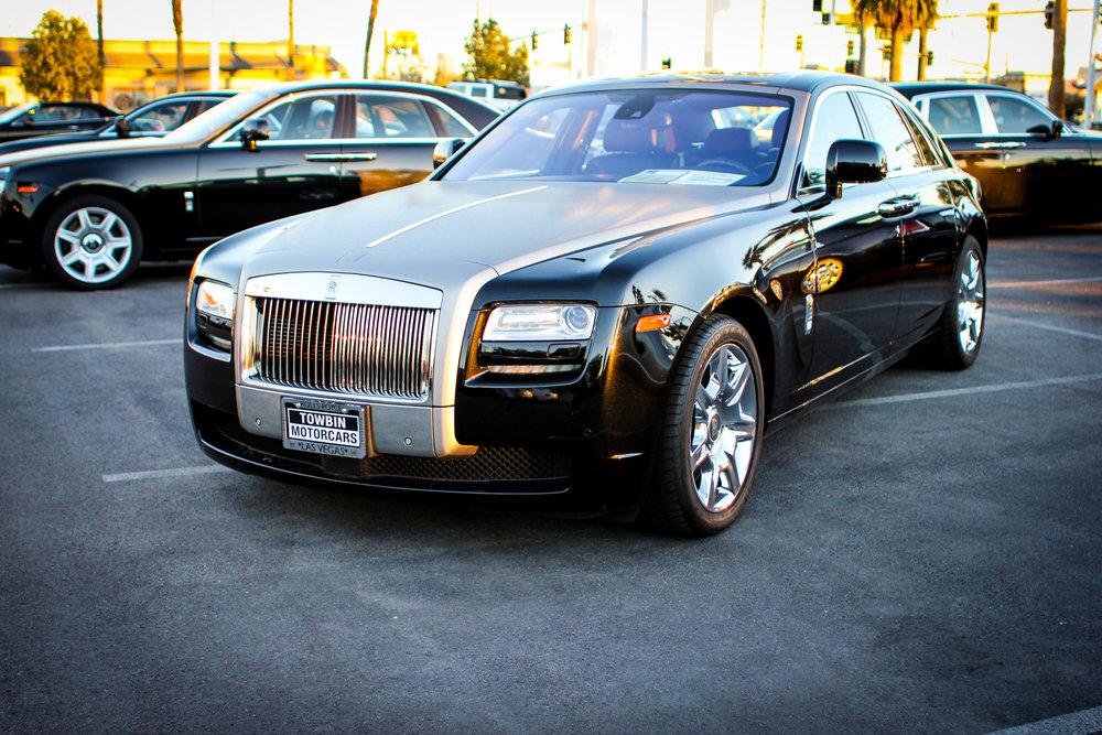 Rolls Royce Ghost Brushed Aluminum