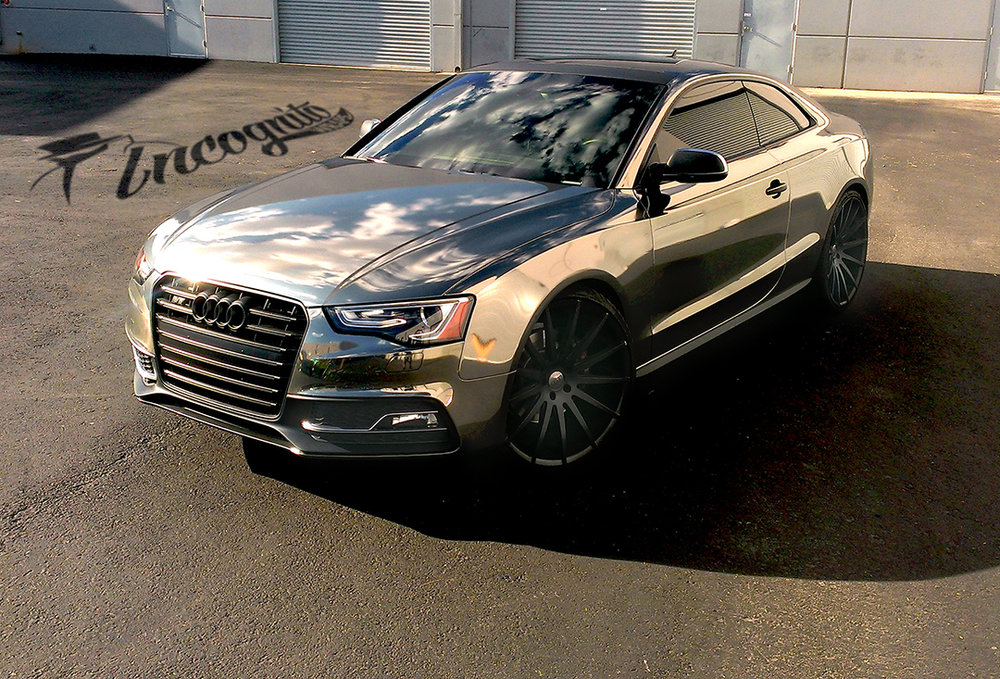Audi S5 Black Chrome