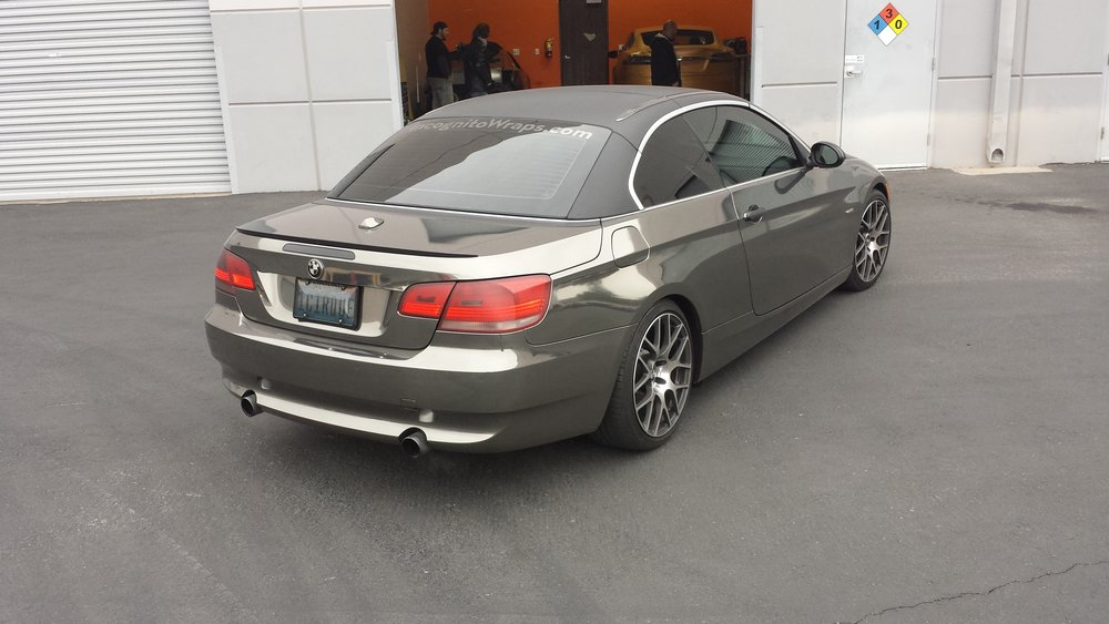 BMW 335 Coupe Black Chrome