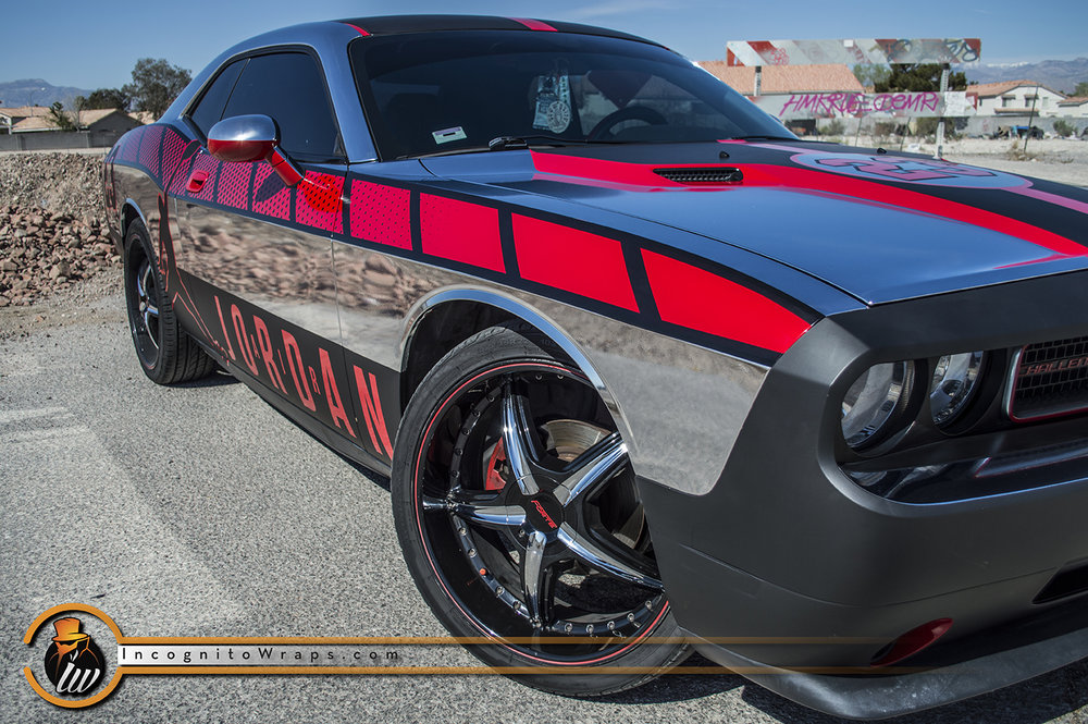 Dodge Challenger Chrome Jordan