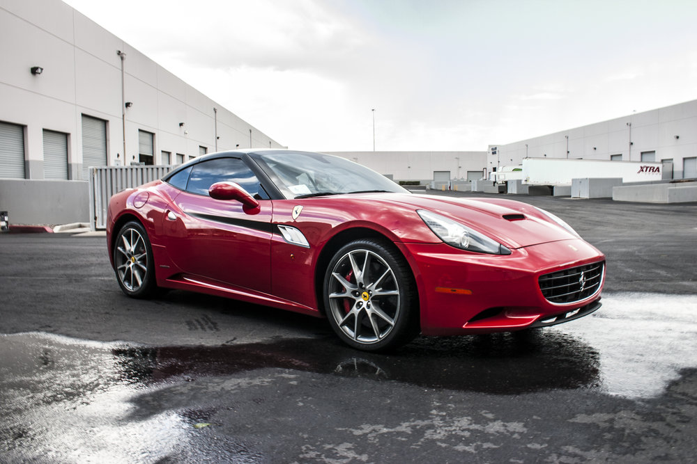 Ferrari California Satin Chrome Accents