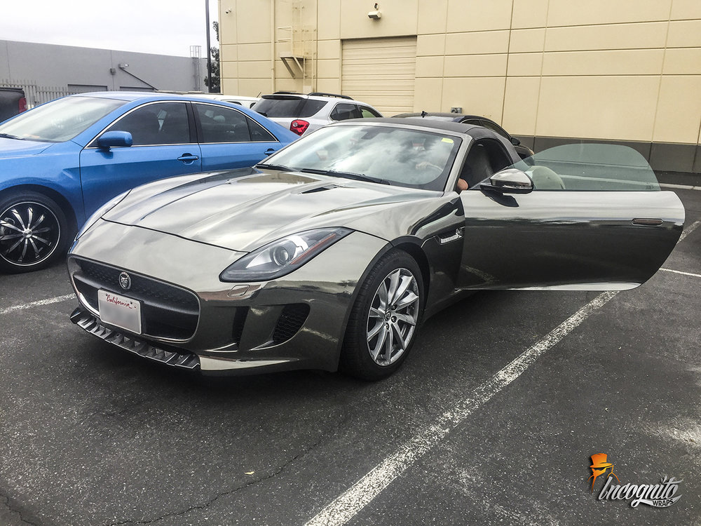 Jaguar F Type Black Chrome