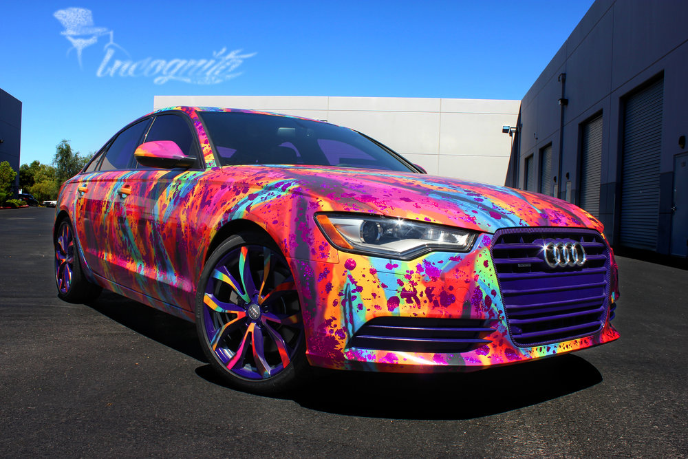 Audi A6 Mister Tony Multi Color Design