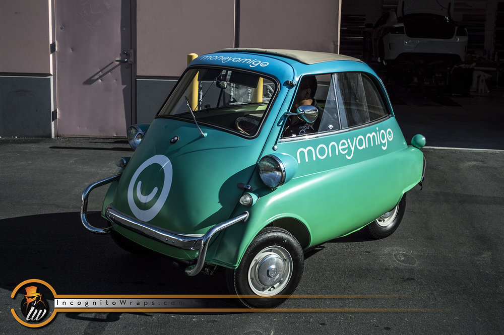 BMW Isetta Money Amigo Design Satin Green