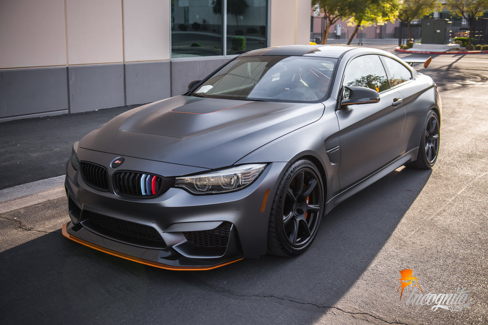 BMW M4 GTS Acid Orange and Carbon Fiber