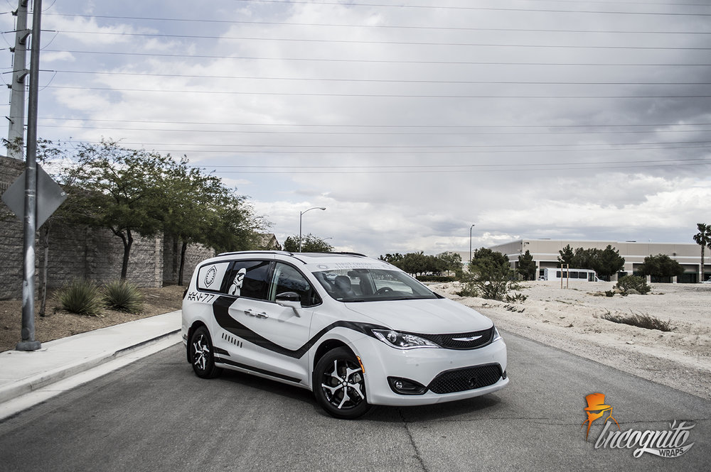 Chrysler Pacifica Stormtrooper Wrap