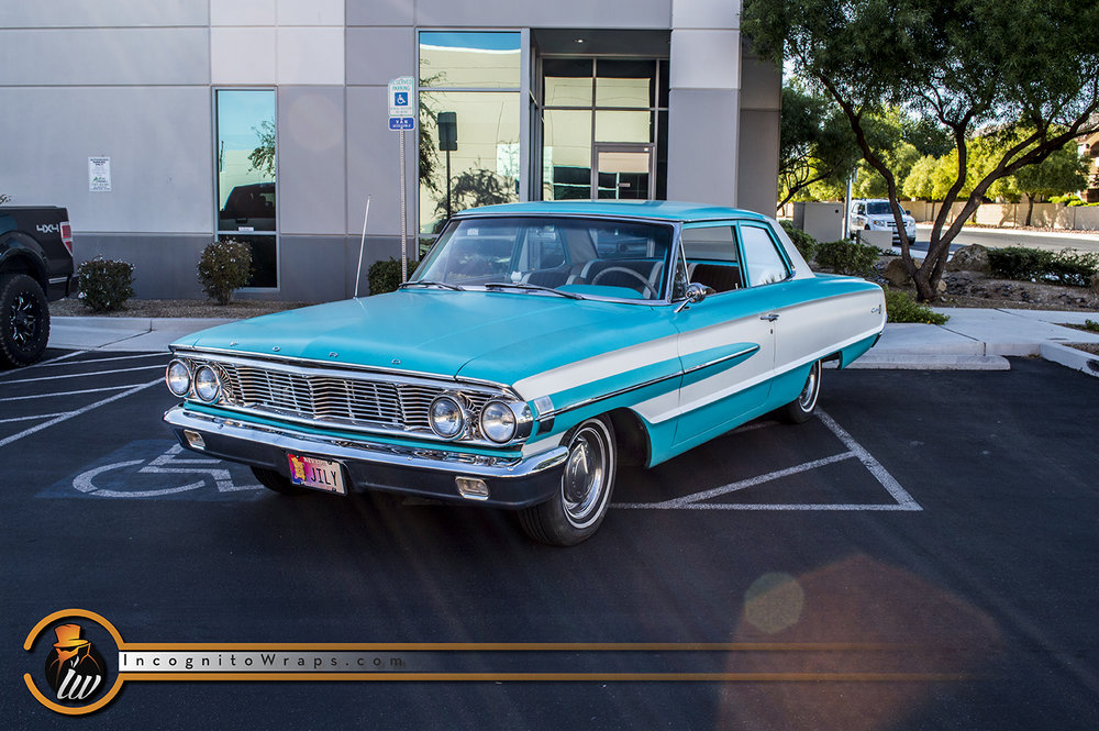 Ford Galaxy 500 Satin Azure Tiffany Blue