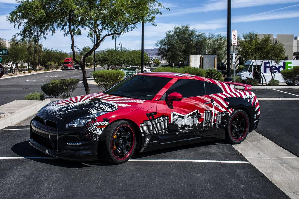 Nissan GTR Godzilla Wrap