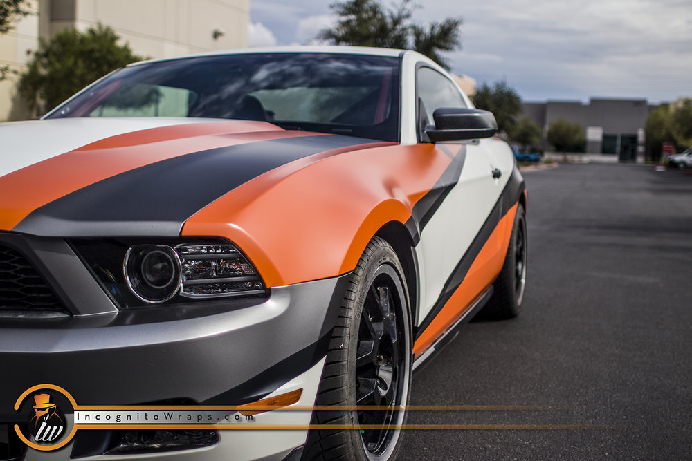 Ford Mustang GT Race Design Wrap
