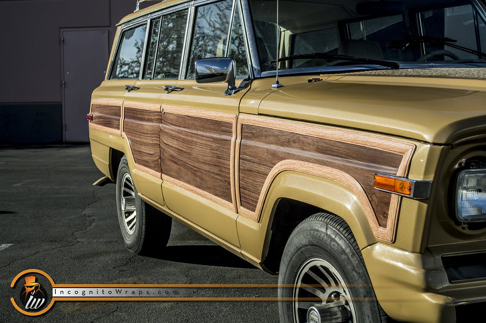 Jeep Cherokee Woodie