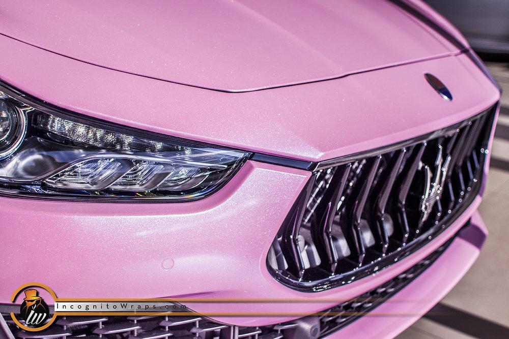 Maserati Ghibli Custom Bubblegum Pink