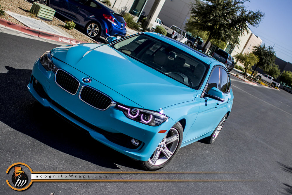 BMW 328d - Gloss Miami Blue