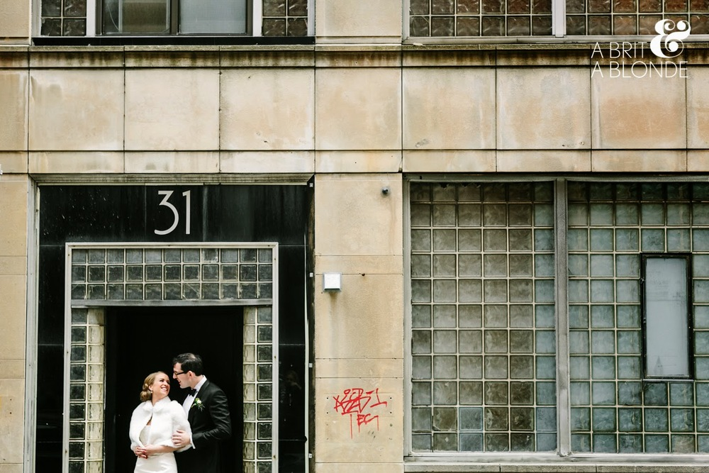 modern toronto jewish wedding by KJ and Co., the burroughes building wedding shot by a brit and a blonde