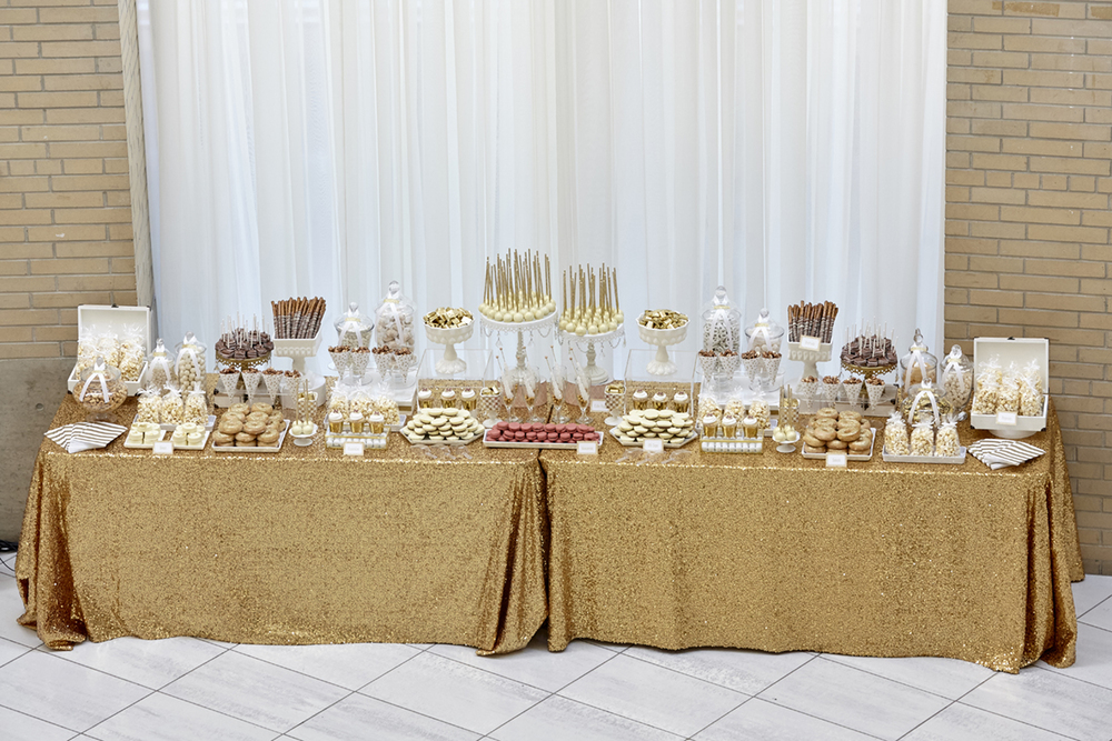 mcmaster alumni gala 2015 designed by KJ and Co. | Candy by Katie sweets table