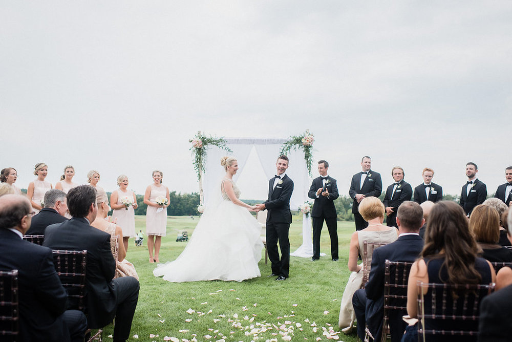 Steph & Mike's Milton wedding at Glencairn Golf Club  | August 2015 Photo by  Jenn Kavanagh Photography