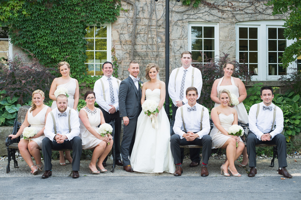 Kellie & Stephen's Ancaster wedding at Ancaster Mill  | August 2014 Photo by  Lori Studios