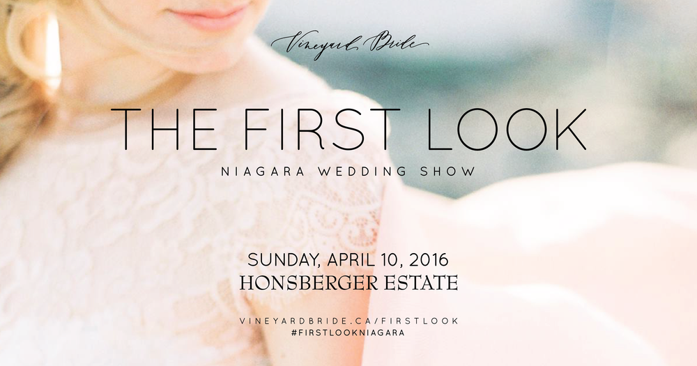 first look wedding show niagara