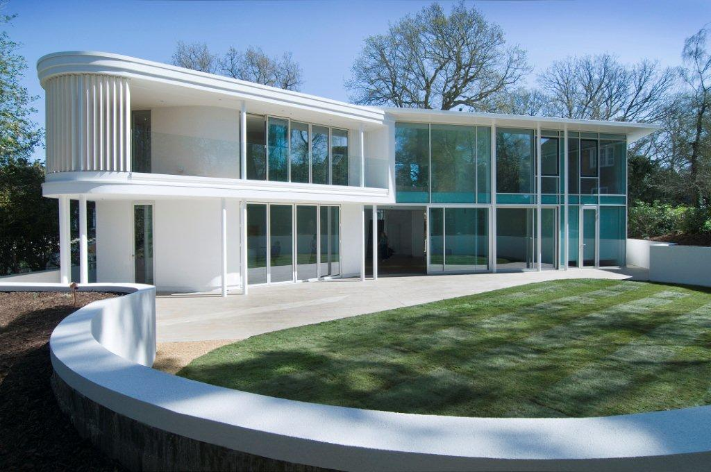 Glass house project uk