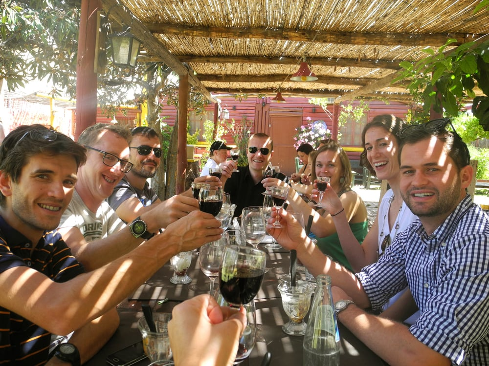 """I CAN'T SAY ENOUGH GOOD THINGS ABOUT MY EXPERIENCE WITH ""WINE TROTTERS""!""      David (USA)       READ REVIEWS"