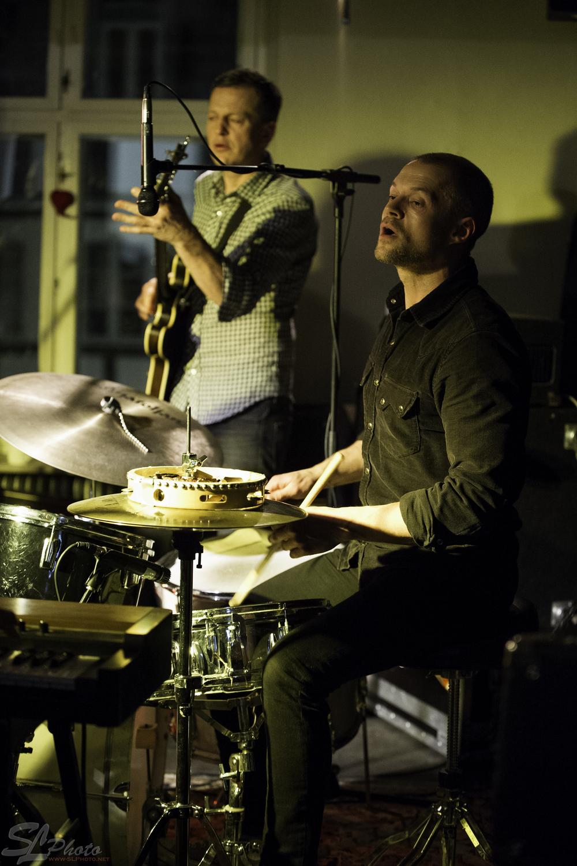 Henrik Poulsen - BasandSøren Poulsen - Drums