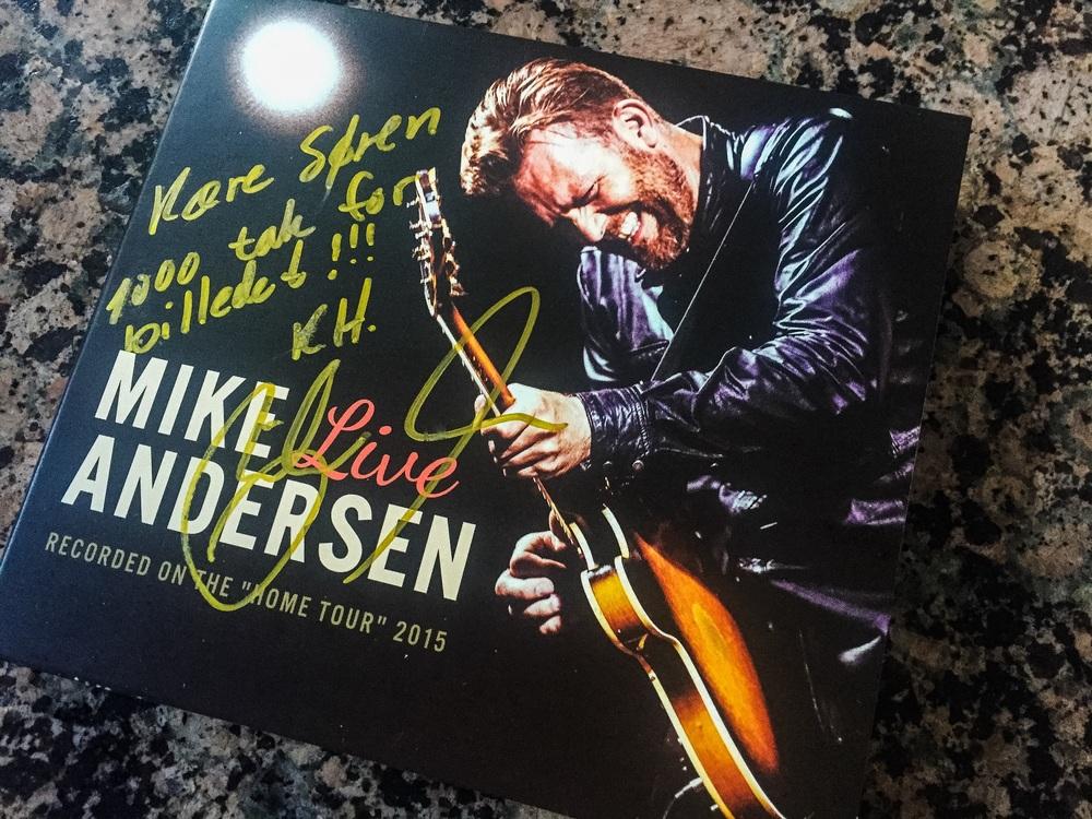 Mike Andersen - Live 2015