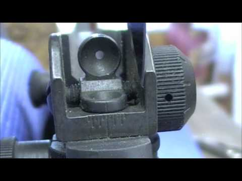 M16 Rear Peep Sight