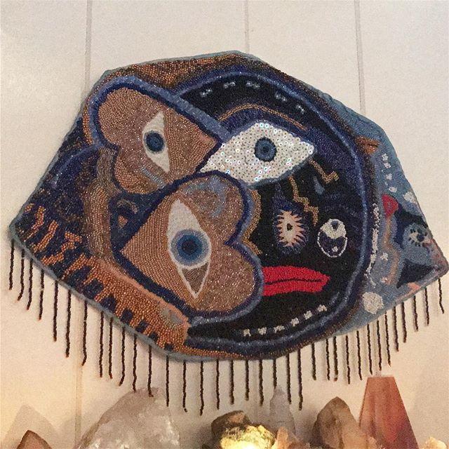 Art in ojai #psychedelicart #rad #ojai  #ojairanchoinn ✨⚡️⭐️