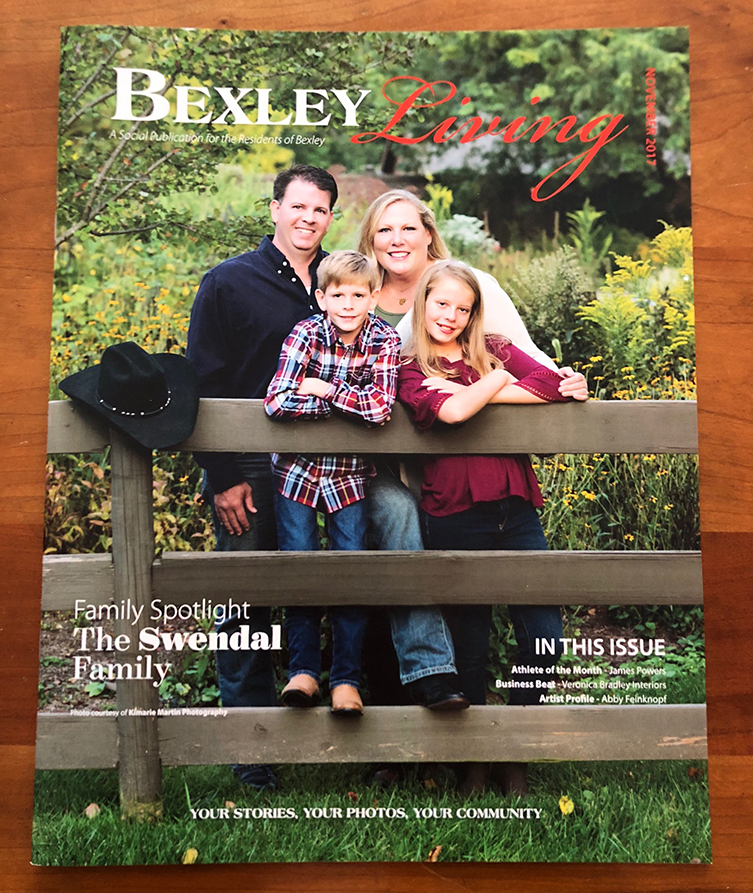 This month's issue of Bexley Living Magazine...