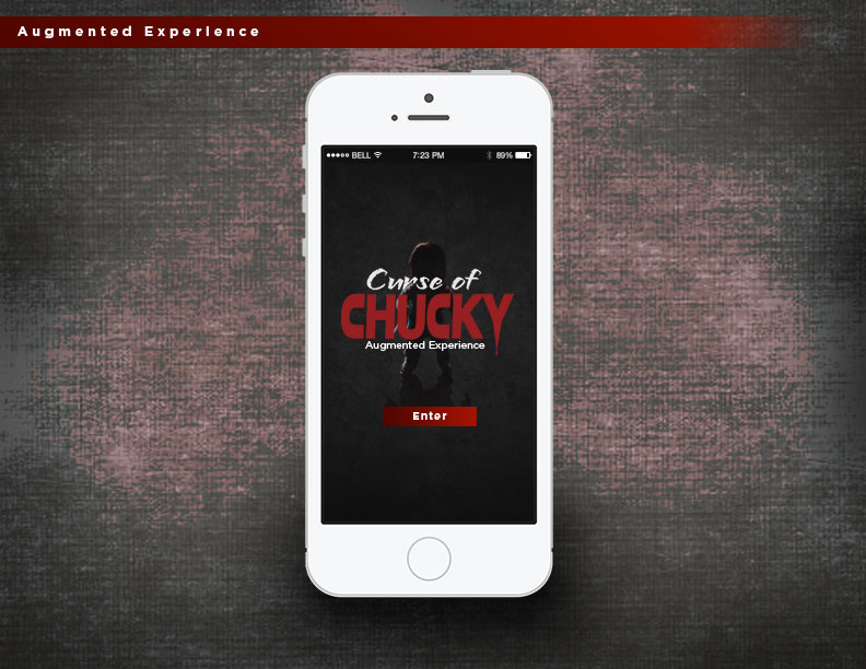 Now that Chucky is back and appearing in unexpected places, users can engage with him on mobile devices and send him to frighten their friends. Downloading and connecting the app with the website gives the user a free prank code, but then it's a free-for-all to search, scan, and scare.