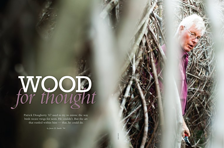 Carolina Alumni Review:   WOOD for thought  by Jason D. Smith