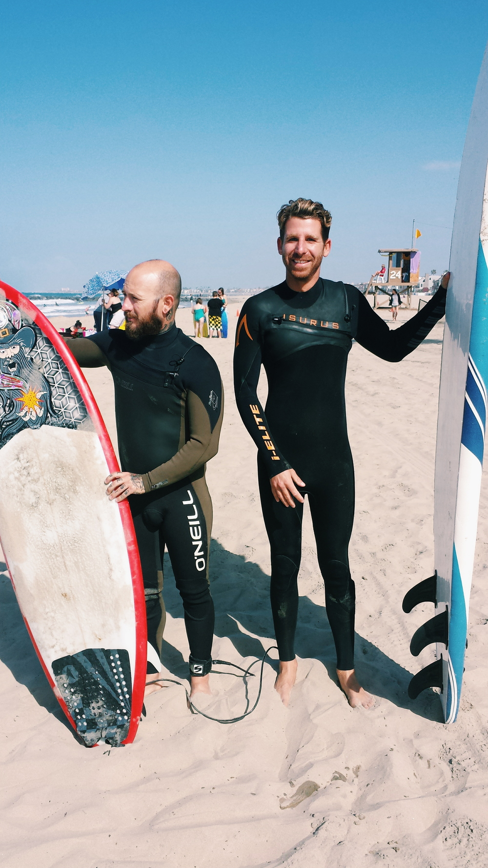 Newport Beach surf lessons, orange county surf lessons, surfing friends surf lessons