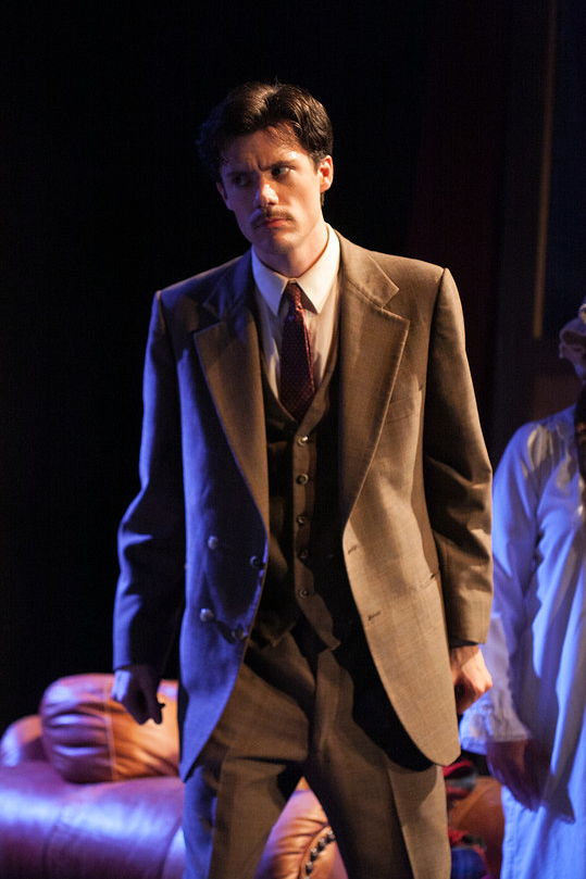 "Richard Hannay in ""The 39 Steps"""