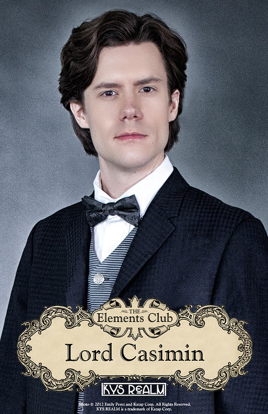 "Lord Casimin in ""The Elements Club"""