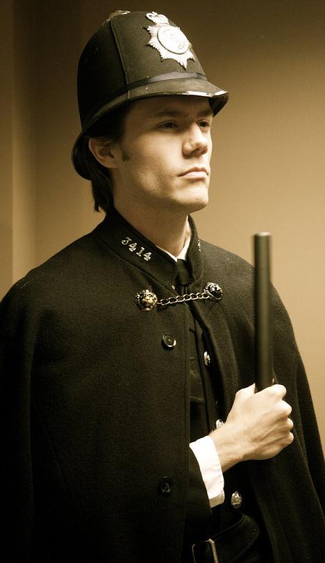 "Policeman in ""Sherlock Holmes"""