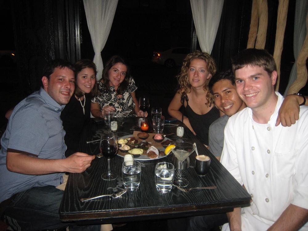Mercato 55 with Neeley, Kelley Anne, Matt & friends