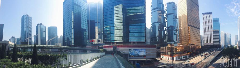 iPhone panorama-Central, Hong Kong