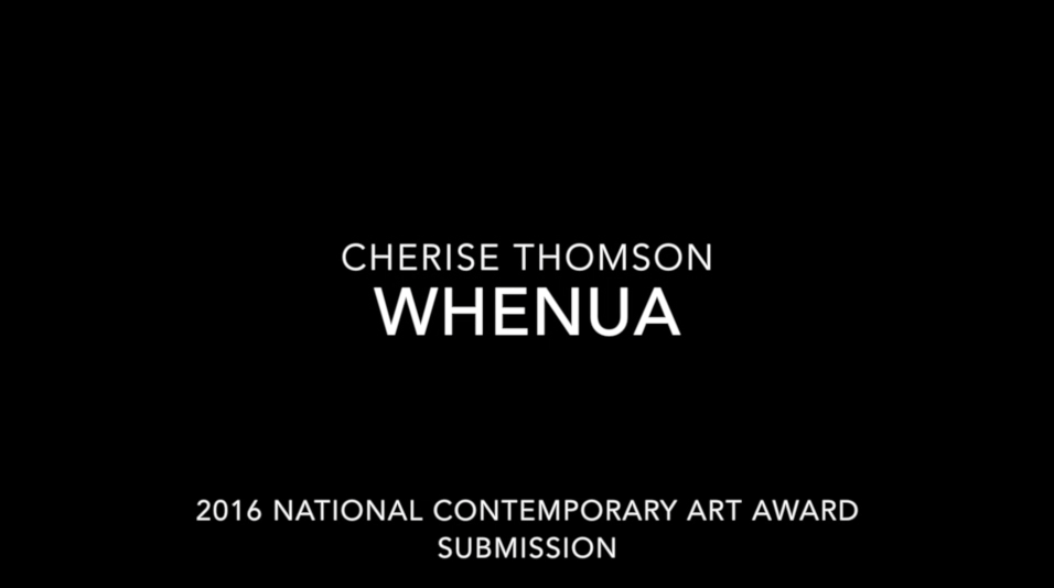WHENUA | VIDEO CLIP STILL 1 HANDWOVEN WIRE SCULPTURE CHERISE THOMSON