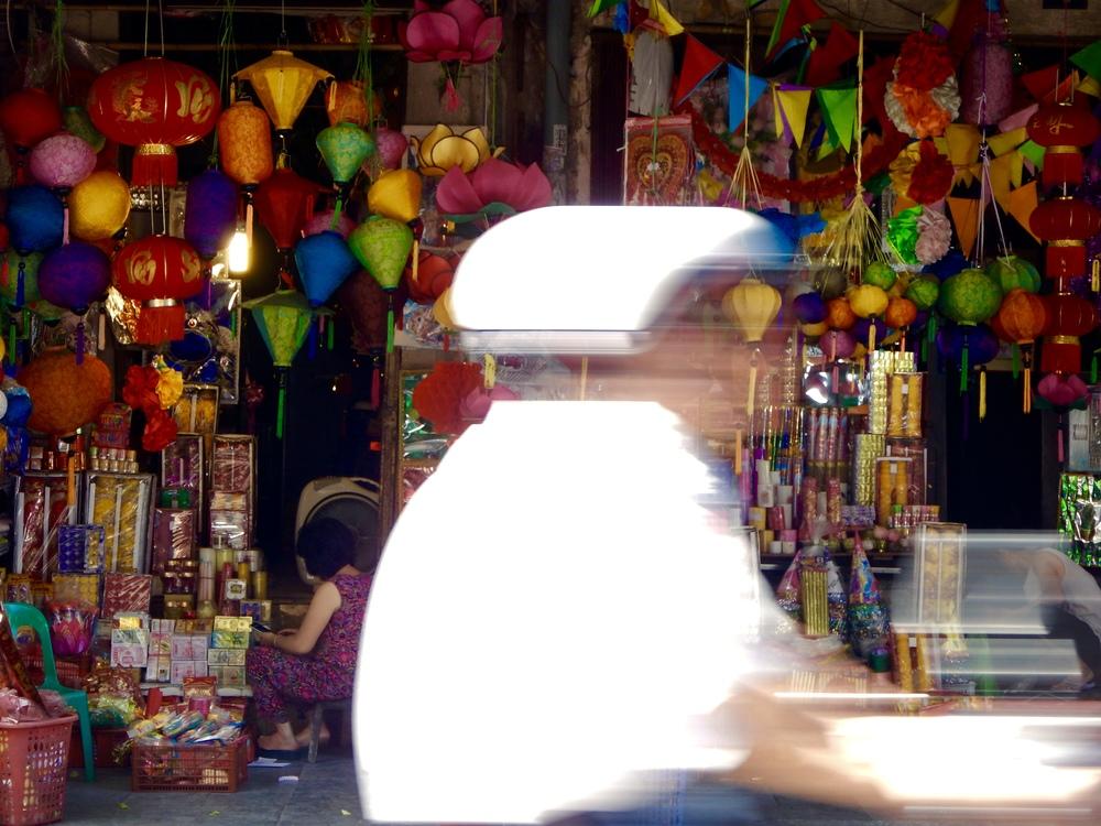 Old Quarter, Hanoi, 2016.