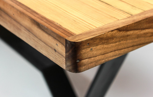 Reclaimed Bowling Alley Table - Reclaimed Bowling Alley Table €� Custom Furniture, And Leather