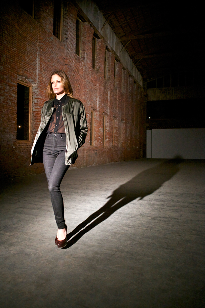 BLK DNM NYC  Tanga Moreau, runway look  Fall 2012