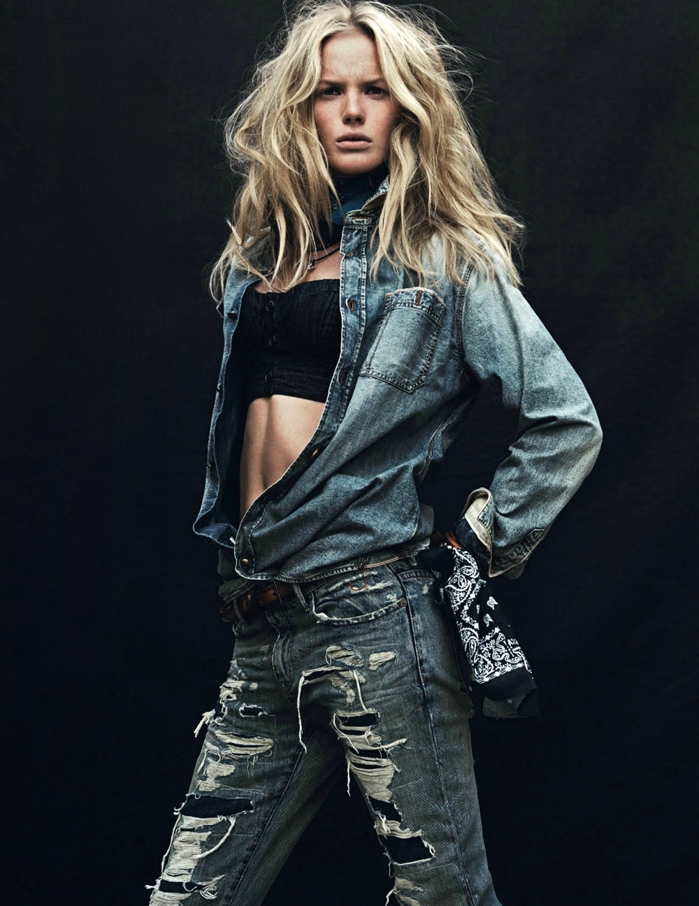 RALPH LAUREN DENIM + SUPPLY   ELLE FRANCE   MARCH 2014