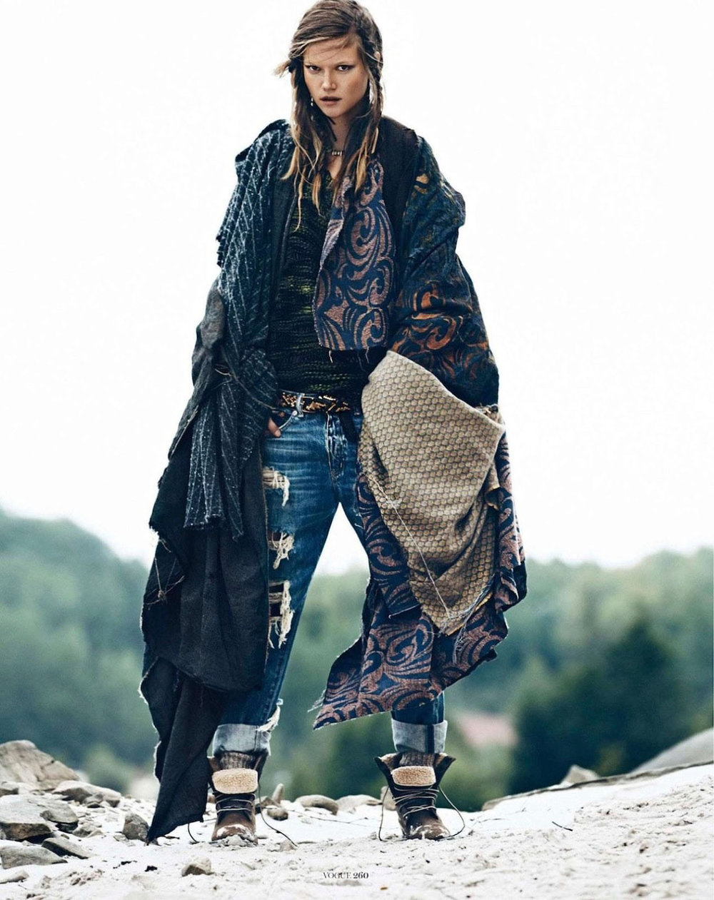 RALPH LAUREN DENIM + SUPPLY   VOGUE PARIS  SEPTEMBER 2013