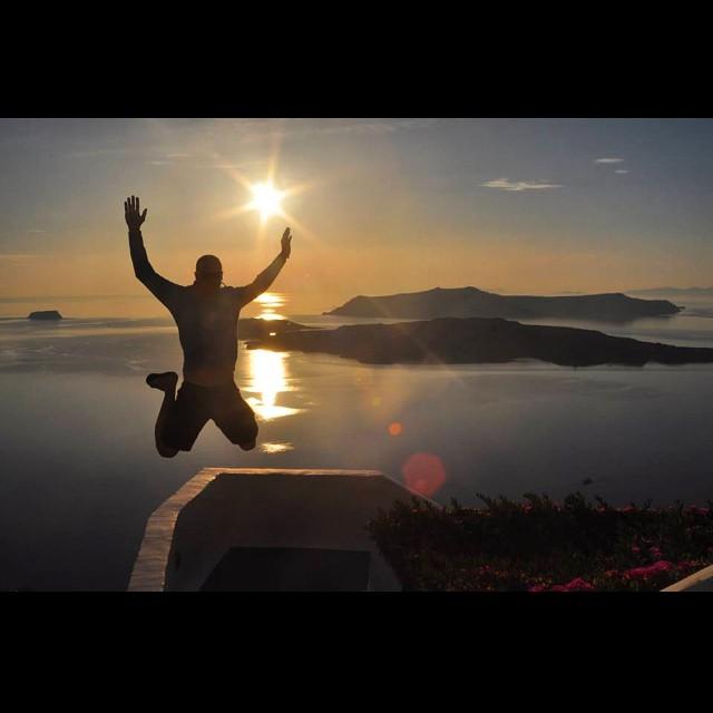Santorini, Greece. #jumptheworld